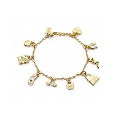 Coach Shopping Bracelet ($128) ❤ liked on Polyvore