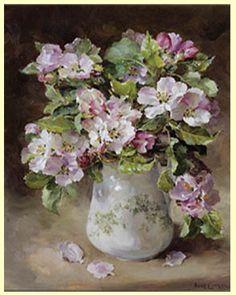 Anne Cotterill OIL Apple Blossom