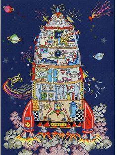 Cross Stitch Cards, Counted Cross Stitch Kits, Cross Stitching, Cross Stitch Embroidery, Cross Stitch Designs, Cross Stitch Patterns, Bothy Threads, Cross Stitch Supplies, Cross Stitch Pictures