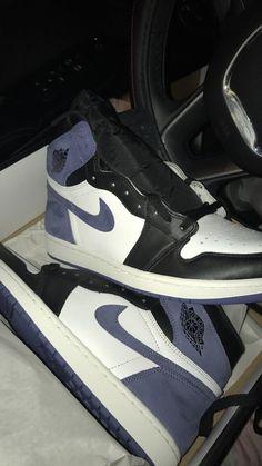 Jordan Shoes Girls, Girls Shoes, Cute Sneakers, Shoes Sneakers, Kd Shoes, Jordan Sneakers, Yeezy Shoes, Jordan 1 Blue, Jordan Retro