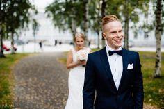 First look. Ensikohtaaminen. Hääkuvaus. Häät. Wedding.