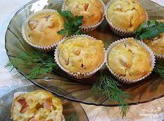 Маффины с сыром и колбасой