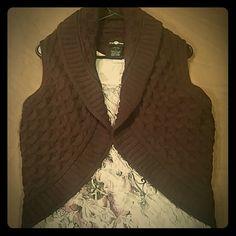 Beautiful Plum Shrug NWOT!!  Chunky knit, super soft! Nordstrom  Sweaters Cardigans