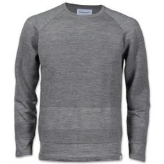 Norse Projects Ville Summer Bubble Herren Strickpullover hellgrau