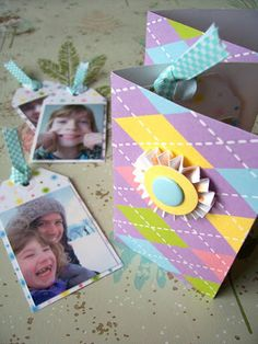 WhiMSy love: Photo Tag Book Tutorial
