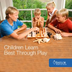 Sometimes it's hard to squeeze family time in, but you may want to read why chil. Sometimes it's hard to squeeze family time in, but you may want to read why children learn best through play. Healthy Eating For Kids, Kids Diet, Healthy Meals, Learning Through Play, Kids Learning, Kids Health, Children Health, Essential Oils For Kids, Health Activities
