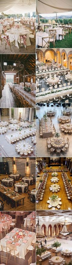 wedding reception table layout ideas for 2018 trends