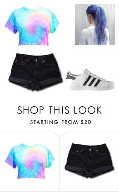 """""""$$$"""" by gigi-xcx-493 ❤ liked on Polyvore featuring beauty, Levi's and adidas"""
