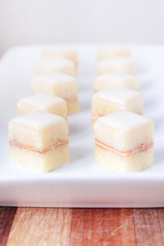 Petit Fours Plated