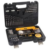 This JCB multi purpose drill bit set comes with 100 pieces, and organised in a plastic carry case. All Kids, Moving House, Tool Set, Drill, Fathers, Dads, Hole Punch, Parents, Drill Bit