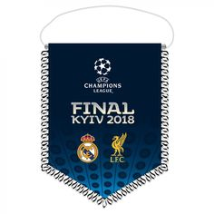 LFC Champions League Final Pennant 17/18   Liverpool FC Official Store
