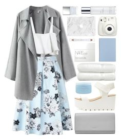 gently dreaming... (Top Set) by charli-oakeby on Polyvore featuring polyvore moda style Miss Selfridge FOSSIL shu uemura Kerstin Florian NARS Cosmetics Aveda Butter London Linum Home Textiles Fujifilm fashion clothing