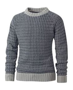 FatFace  Burray Pattern Crew Neck Knit  £50.00  Product Code: 38019  Perfect for those colder days, crew neck jumper with a all over pattern.    60% acrylic, 40% wool, hand wash only