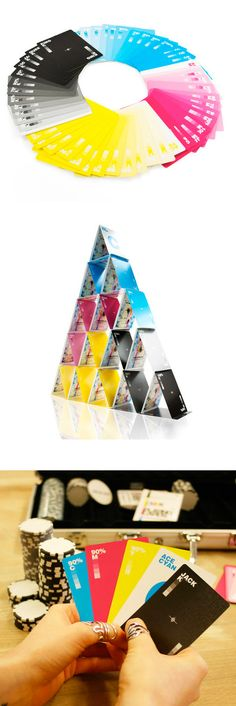 CMYK Playing Cards - for the design nerds