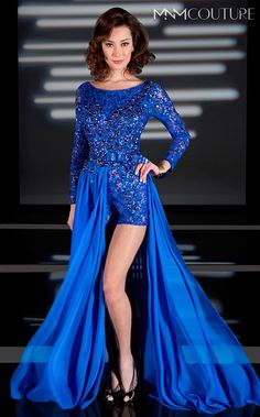 New! MNM COUTURE Style Number: 9036 SIZE 2-22 Color*: Lilac Royal Blue... See M