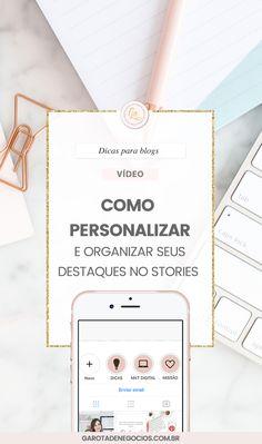 Quer saber como criar artes, salvar e personalizar seus destaques do instagram de forma rápida e objetiva? Vem conferir esse vídeo #instagram #blog #marketingdigital #socialmedia #entrepreneur