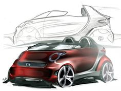 Smart Forspeed Concept Design Sketch