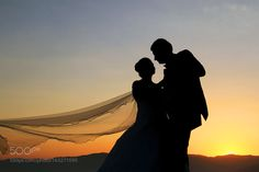 The Bride and groom by NecdetYasar