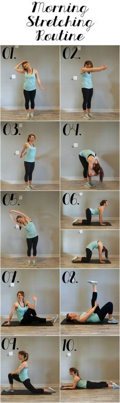 Rise and shine with this energizing morning stretching routine! 10 poses that will increase your flexibility, prevent pains, and increase blood…
