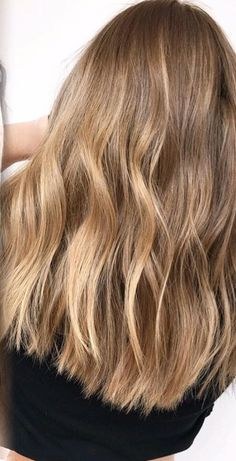 Golden Brown Hair Color, Brown Hair With Blonde Highlights, Blonde Hair Looks, Light Brown Hair, Light Hair, Bronde Hair, Balayage Hair, Pelo Natural, Hair Shades