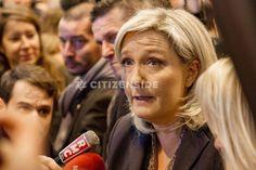 Salon de l'agriculture : Marine Le Pen rencontre les éleveurs - A la une - via Citizenside France. Copyright : Christophe BONNET - Agence73Bis