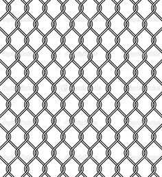 Prison Fence Graphic abstract background barbed barrier border cage design element