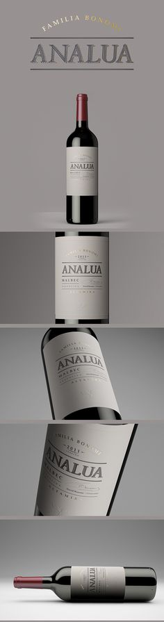 ANALUA | Familia Bonomi on Packaging Design Served