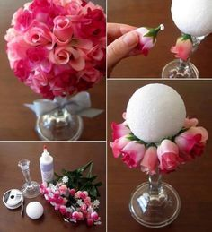 Cute Center Piece Idea And A Good Mothers Day Gift! #Home #Garden #Trusper #Tip