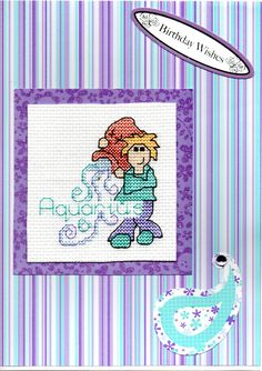 Winter birthday cards are great for anyone with a birthday in December, January or February and includes the star signs Sagittarius, Capricorn and Aquarius.  These cards have cross stitch images and a range of different messages so are also great for people who love winter. All cards are Buy 3, Get 1 Free http://www.ebay.co.uk/itm/Winter-Birthday-Cards-Handmade-December-January-February-Star-Signs-Snow-/112223892899