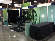 Corporate ShutterSkinz to a great looking booth!