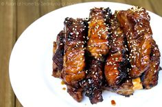 Chinese Style Sticky Ribs Recipe
