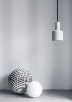 Pixel Stripe Wallpaper - Eco White Light Collection - Lime Lace £34.95 #ecowhitelight #whitecollection #patternwallpaper