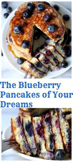 The Blueberry Pancakes Of Your Dreams - these are simply THE BEST! So easy to make, too!