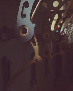 Anatomy/Mechanics. Interior decor collection. Plywood. Steampunk, industrial