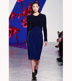 @Alexandra M What Wear - Thakoon                 Repurpose your cropped sweater by wearing it over a slip dress in the same color.