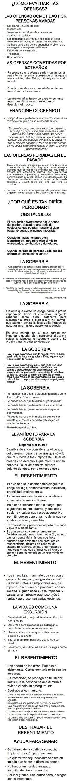 ... ¿Cómo evaluar las ofensas?. Ideas Desarrollo Personal para www.masymejor.com