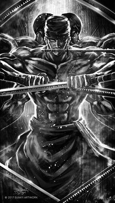 One Piece-Roronoa Zoro One Piece Anime, Zoro One Piece, One Piece Fanart, Anime One, Roronoa Zoro, Super Manga, One Piece Tattoos, One Piece Wallpaper Iphone, One Piece Drawing