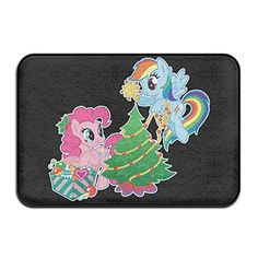 My Little Pony Christmas Door Mats Indoor Outdoor Floor Mat >>> Check this awesome product by going to the link at the image.(This is an Amazon affiliate link and I receive a commission for the sales)