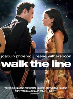 Walk the Line (2005) starring Joaquin Phoenix & Reese Witherspoon as Johnny Cash & June Carter Cash