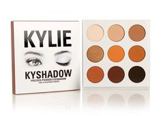 "Kylie Jenner's new eyeshadow bronzing palette  ""KYSHADOW"""