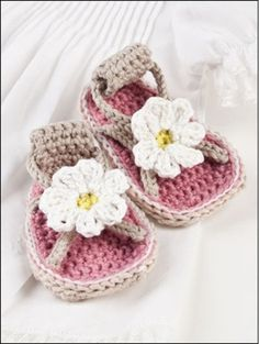 1243548f49d Picture of Beautiful Baby Shoes Crochet Slippers
