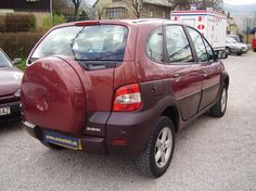 Renault Scenic RX4 in Red