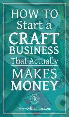 Ever wondered how to start a craft business? This post is for you – it's packed full of tips and tricks to help you start a craft business today! Do you love to make crafts? Etsy Business, Craft Business, Home Based Business, Online Business, Creative Business, Business Planning, Business Tips, Home Business Ideas, Business Opportunities