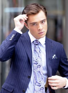 Chuck Bass clothing style | Men with style