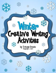 FREE! #Winter Creative Writing Activities