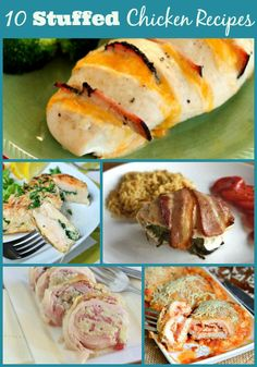 10 Stuffed Chicken Breast Recipes