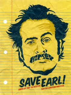 Save Earl Poster