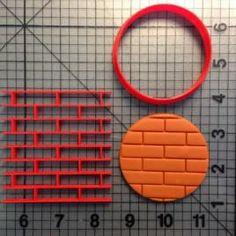 Brick Imprint Cookie Cutter Set