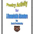 Poetry Activity for A Remarkable Adventure by Jack Prelutsky.  Read a poem about excuses for not doing homework! A fun back to school poem to read ...