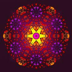 constance ! constancy ! constância ! Mandala de Pierre Vermersch Digital Drawings